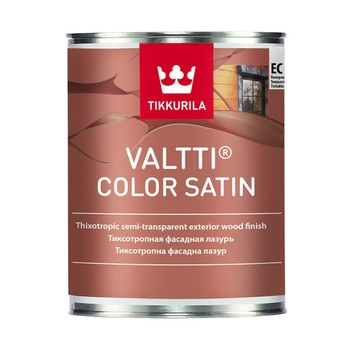 Антисептик Tikkurila Valtti Color Satin Ec, полуматовый, 9л