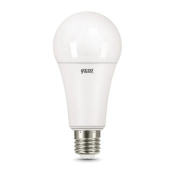 Лампа Gauss LED Elementary A67 25W E27 теплый свет 3000K
