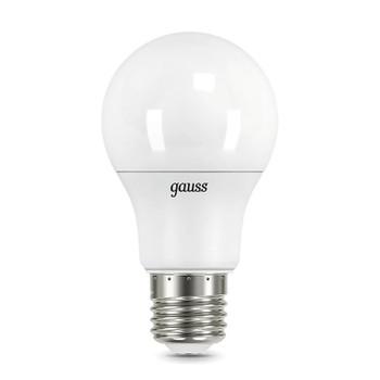 Лампа Gauss LED A60 10W E27 холодный свет 4100K step dimmable