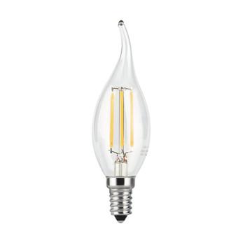 Лампа Gauss LED Filament Candle tailed E14 9W теплый свет 2700K