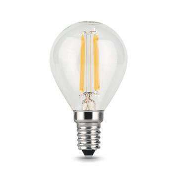 Лампа Gauss LED Filament Globe E14 9W холодный свет 4100K