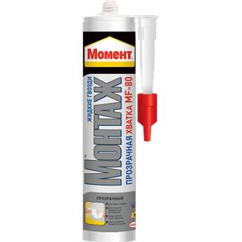 Клей Момент Монт. Пр.хватка МF-80, (б/цв.) 300г
