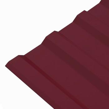 Профнастил МП-20 1150х2000 (ПЭ-01-3005-0,5мм) красное вино Вариант R