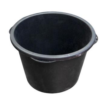 Кадка строительная 90л круглая пластмасса