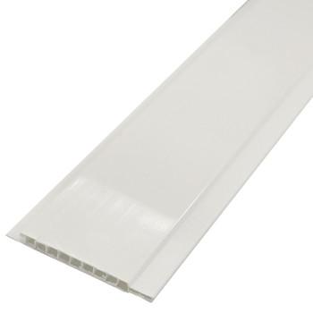 Вагонка П-10 белая глянцевая, 3м