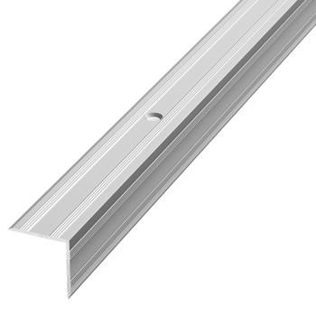 Профиль угловой ПУ05 (20*20) (ПУ05, 1800.01 л., серебро люкс)