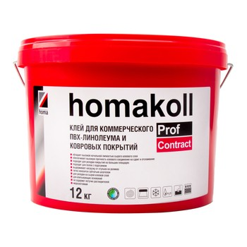 Клей Homakoll PROF CONTRACT, 12кг