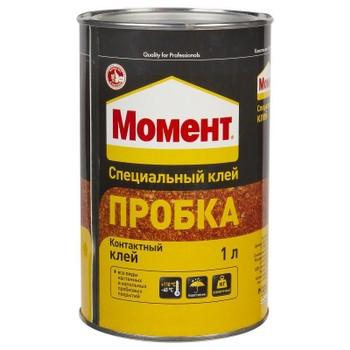 Клей Момент (Момент Пробка, 1 л, неморозостойкий, срок хранения 24 мес.)