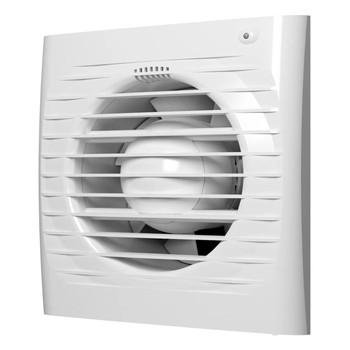 Вентилятор 100 ДВТНК (150*150мм) Вентс (с выкл., реле влажности, таймером, с клапаном)