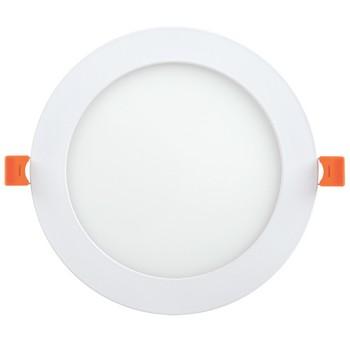 Светильник ДВО 1606 белый круг LED 12Вт 6500 IP20 IEK