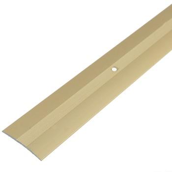 Порожек стыкоперекрывающий (37х3,5) (ПС03, 1350.02, золото)