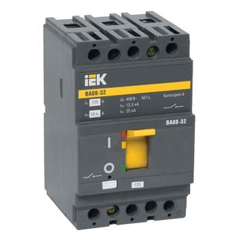 Авт. выключатель IEK 3-полюсной ВА 88-32, 125А (С)