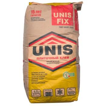 Клей для плитки UNIS FIX, 25 кг