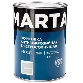 Грунт ГФ-021 MARTA серый, 1кг
