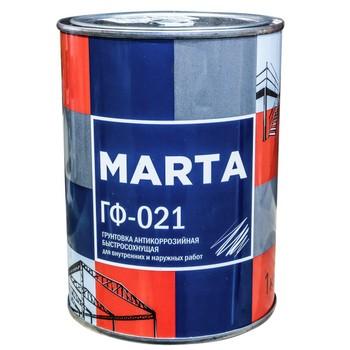 Грунт ГФ-021 MARTA красно-коричневый, 1кг