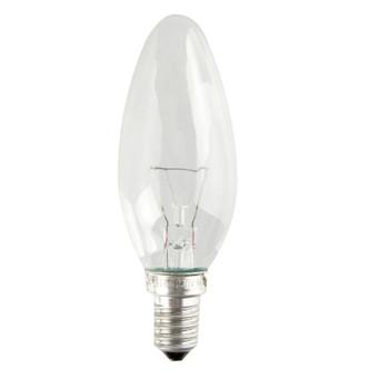 Лампа накаливания 40Вт Е14 (Свеча)