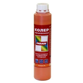 Колер PARADE в/д № 208 (оранжевый) 0,75л
