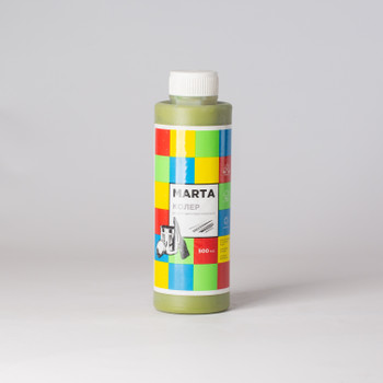 Колер MARTA в/д оливковый, 500 мл