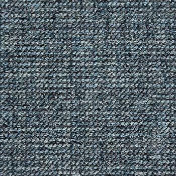 Покрытие ковровое Plaid 72, 4 м, синий, 60% PA