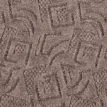 Покрытие ковровое Shape 44, 5 м, коричневый, 100% PA