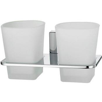 Стакан стеклянный двойной WasserKraft Leine К-5028D