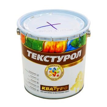 Средство для защиты древесины 4-в-1 Текстурол Кваттро б/цветный, 3 л