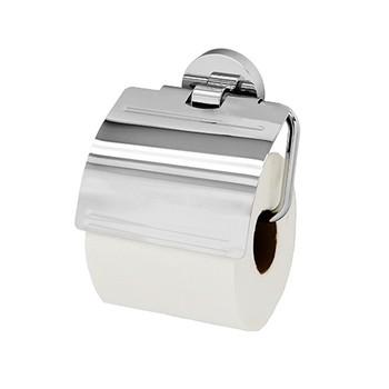 Держатель туалетной бумаги WasserKraft Rhein K-6225 с крышкой