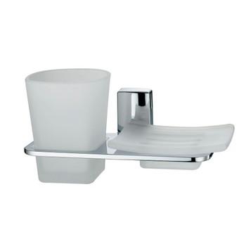Держатель стакана и мыльницы WasserKraft Leine К-5026