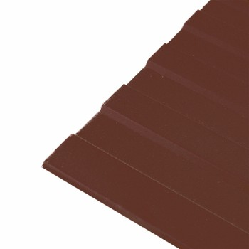 Профнастил С-8 1200*3000 (ПЭ-01-8017-0,5мм) шоколад Вариант А