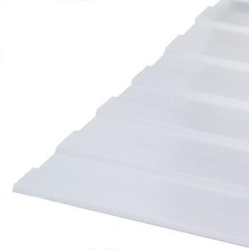 Профнастил С-8 1200*2000 (ПЭ-01-9003-0,5мм) белый Вариант А