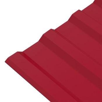 Профнастил МП-20 1150*2100 (ПЭ-01-3003-0,5мм) рубин