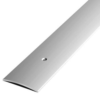 Порожек стыкоперекрывающий (ПС04,1350.01л, серебро люкс)