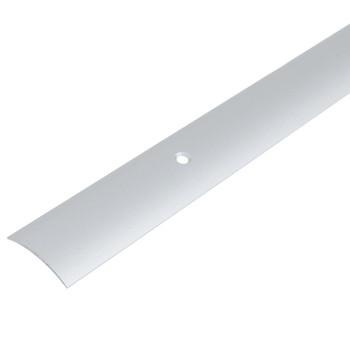 Порожек стыкоперекрывающий (ПС04,1800.01л, серебро люкс)