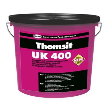 Клей для текстильных и ПВХ покрытий Thomsit UK400, 14 кг.