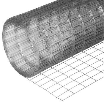 Сетка сварная75х100мм, (1,5х15м) оцинкованная