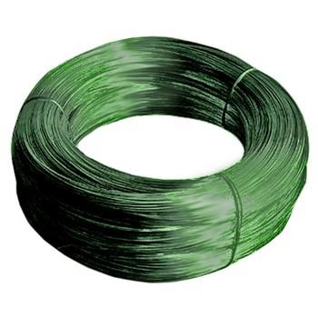 Проволока зеленая с полимерным покрытием (50 м)