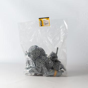 Дюбель для теплоизоляции с мет. гвоздём 10х90 (50 шт) - пакет
