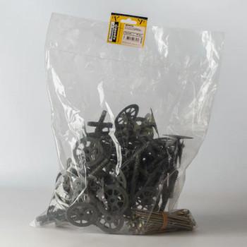 Дюбель для теплоизоляции с мет. гвоздём 10х120 (50 шт) - пакет