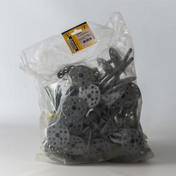 Дюбель для теплоизоляции с мет. гвоздём 10х160 (50 шт) - пакет
