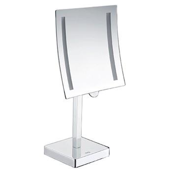 Зеркало косметическое WasserKraft K-1007 с подсветкой и увеличением