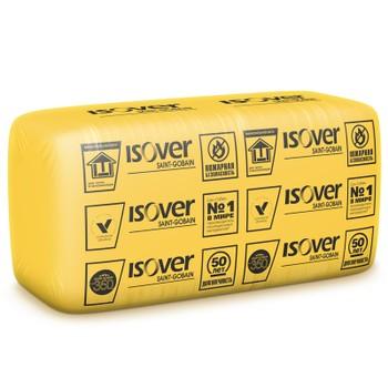Утеплитель ISOVER Каркас П-34 1170х610х100 мм 10 штук в упаковке