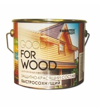Деревозащитное средство Farbitax Профи Wood Тик, 3л