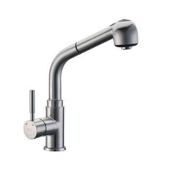 Смеситель для кухни WasserKraft Wern 4266 с выдвижной лейкой