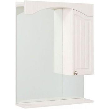 Зеркальный шкаф Onika Арно 65 Белое дерево правый (206520)