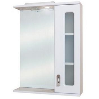 Зеркальный шкаф Onika Кристалл 58 правый (205818)