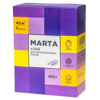 Клей обойный MARTA для флизелиновых обоев, 300гр