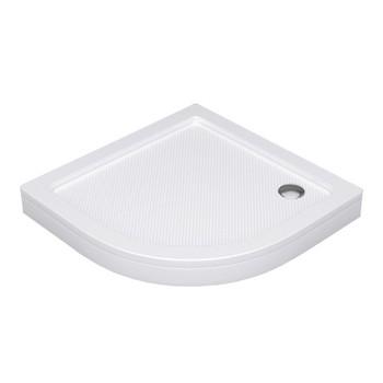 Поддон душевой WasserKraft Isen 26T01 полукруглый 90х90