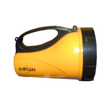 Фонарь аккумуляторный желтый (18 светодиодов) ФОТОН
