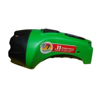 Фонарь аккумуляторный зеленый (7 светодиодов)