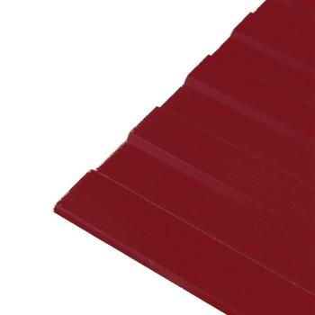 Профнастил С-8 1200х2000 (ПЭ-3011-0,45 мм) Красно-коричневый